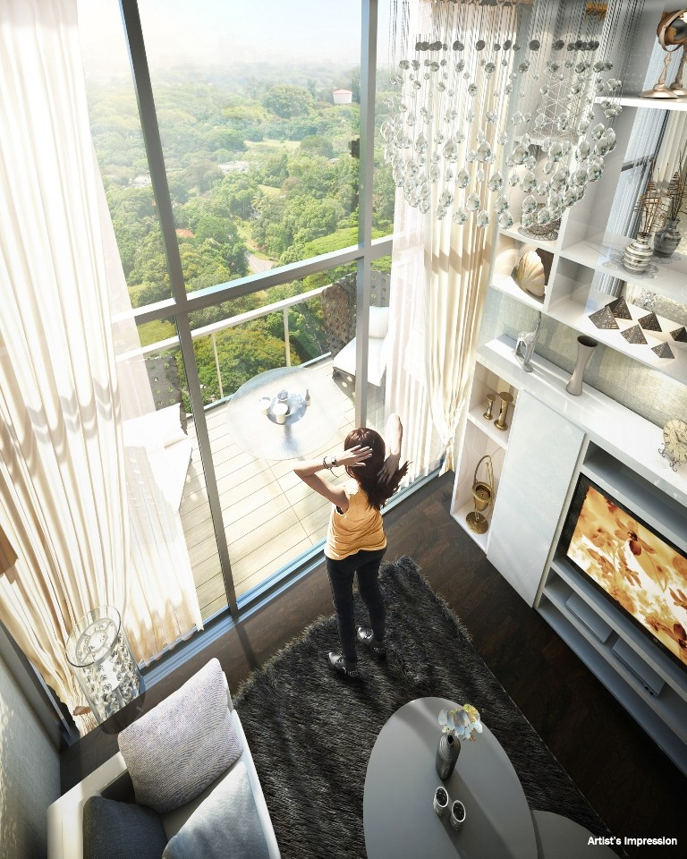 Kingsford hillview peak condo singapore near hillview for Condo ceiling design