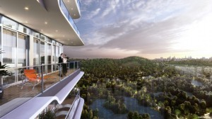 Kingsford Hillview Peak new launch with lush greenery view of Bukit Timah Reserve