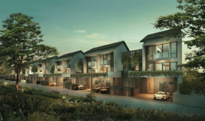 Palm Isles - a cluster of deluxe homes