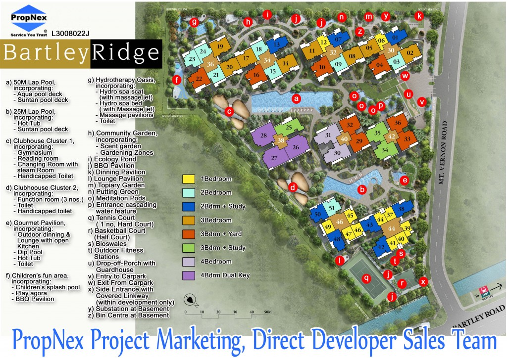 Bartley Ridge Site Plan