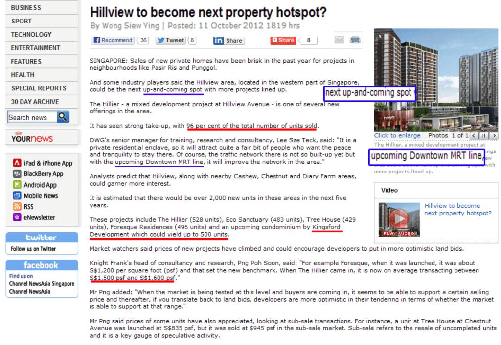 Hillview- next property hotspot?