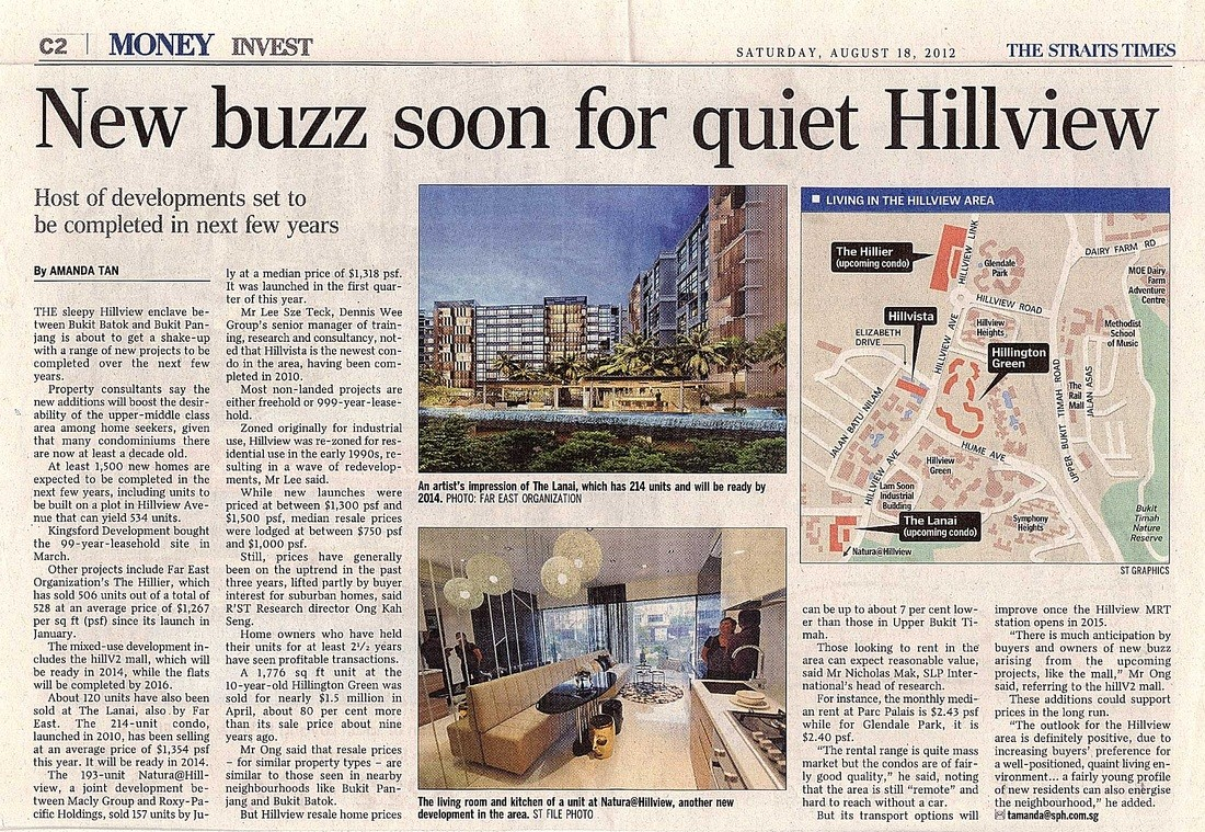 New buzz soon for quiet Hillview