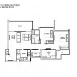 Bartley Ridge 2+1 bedroom