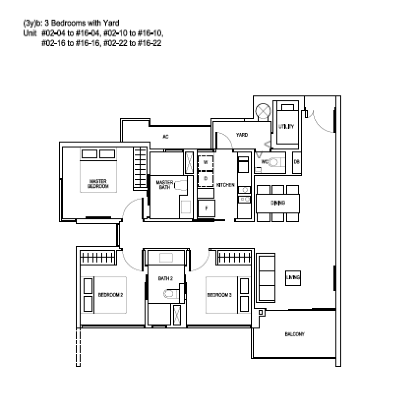 Bartley Ridge 3 bedroom with Yard