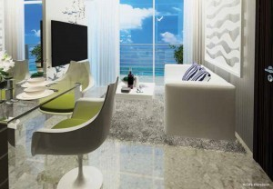 Experience the energy of the sea on Ocean Front suites
