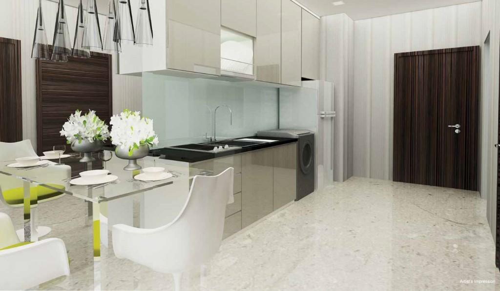 Interior design of Ocean Front Suites 1