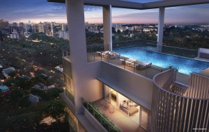 Treasure on Balmoral | Condosingapore -Penthouse Pool