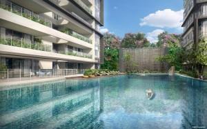 Treasure on Balmoral | Condosingapore - Pool View