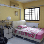 Bright and spacious bedrrom in 110 Tampines St 11