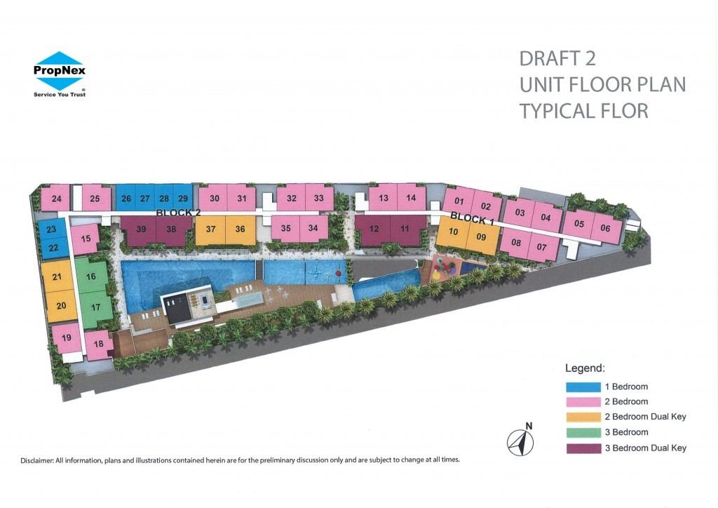 Kensington Square typical Site Plan   Condosingapore