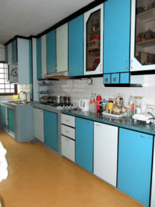 Modern and organised kitchen in 110 Tampines St 11