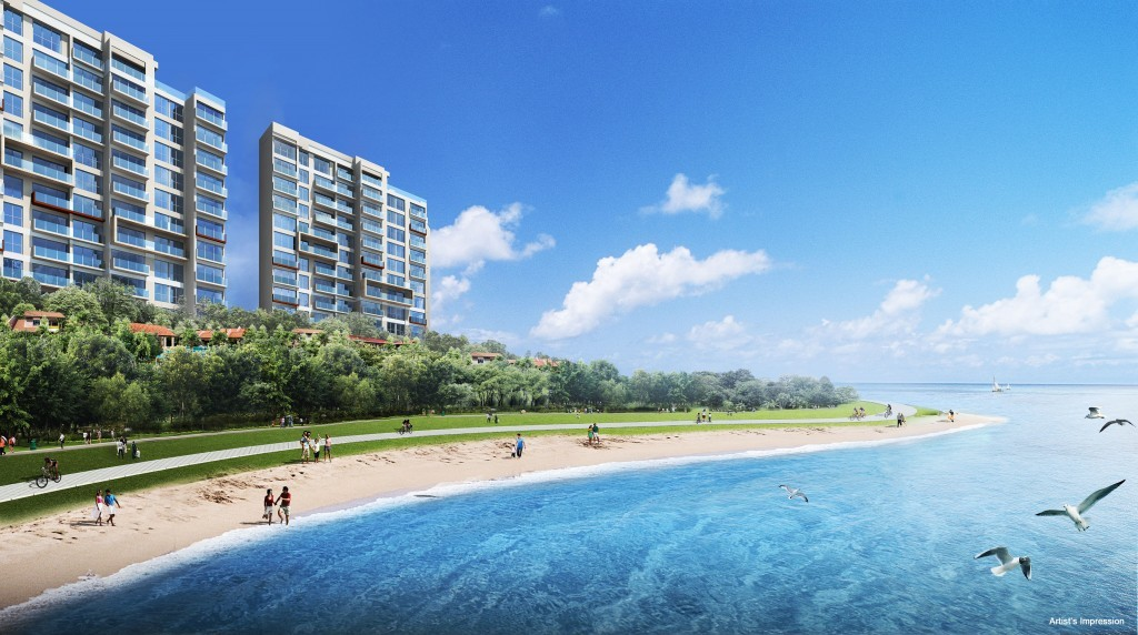 Sea Horizon EC - ocean as neighbour | Beach front Real Estate Singapore