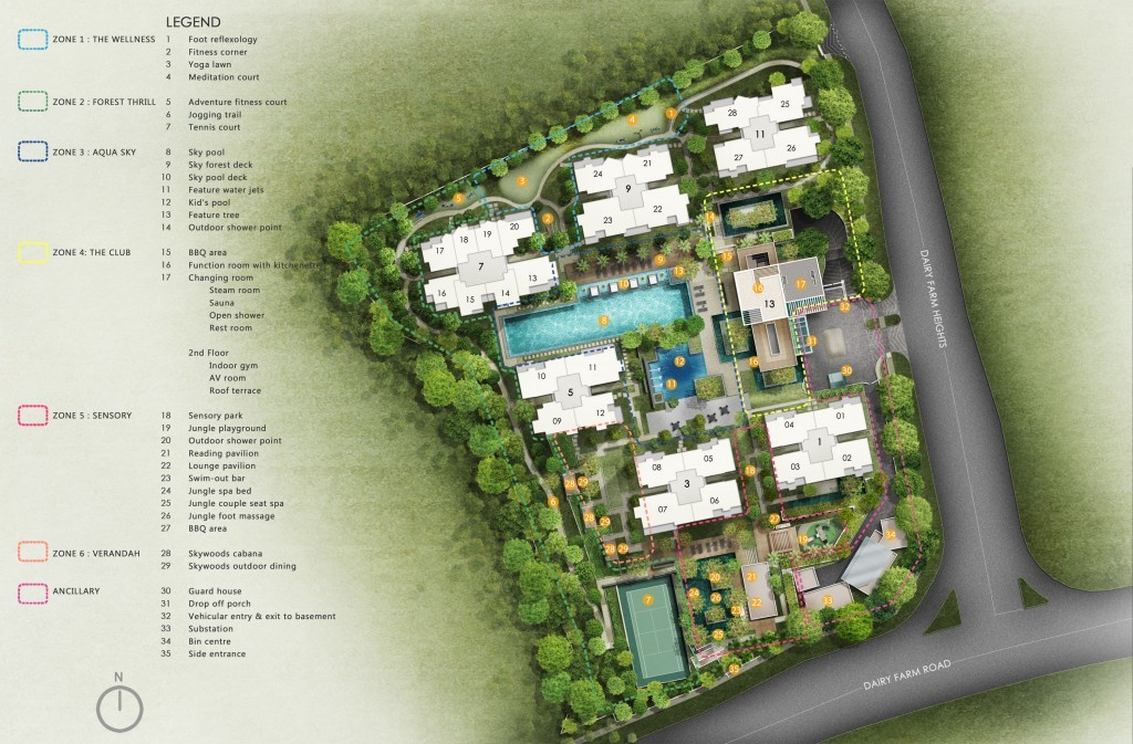 Skywoods Condo | Singapore Property | Dairy Farm | New condo near Hillview MRT