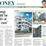 News article about One@Changi City