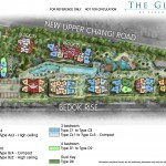 The Glades condo Site with bedroom distribution plan