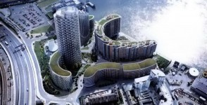 Providence Tower | at New Providence Wharf of Canary Wharf | UK London