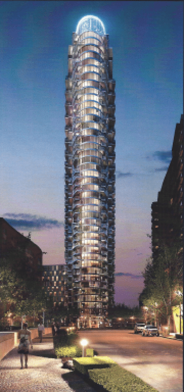Providence Tower | at New Providence Wharf of Canary Wharf | UK London