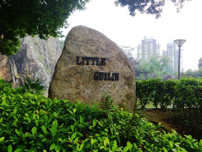 Hillford near to Little Guilin