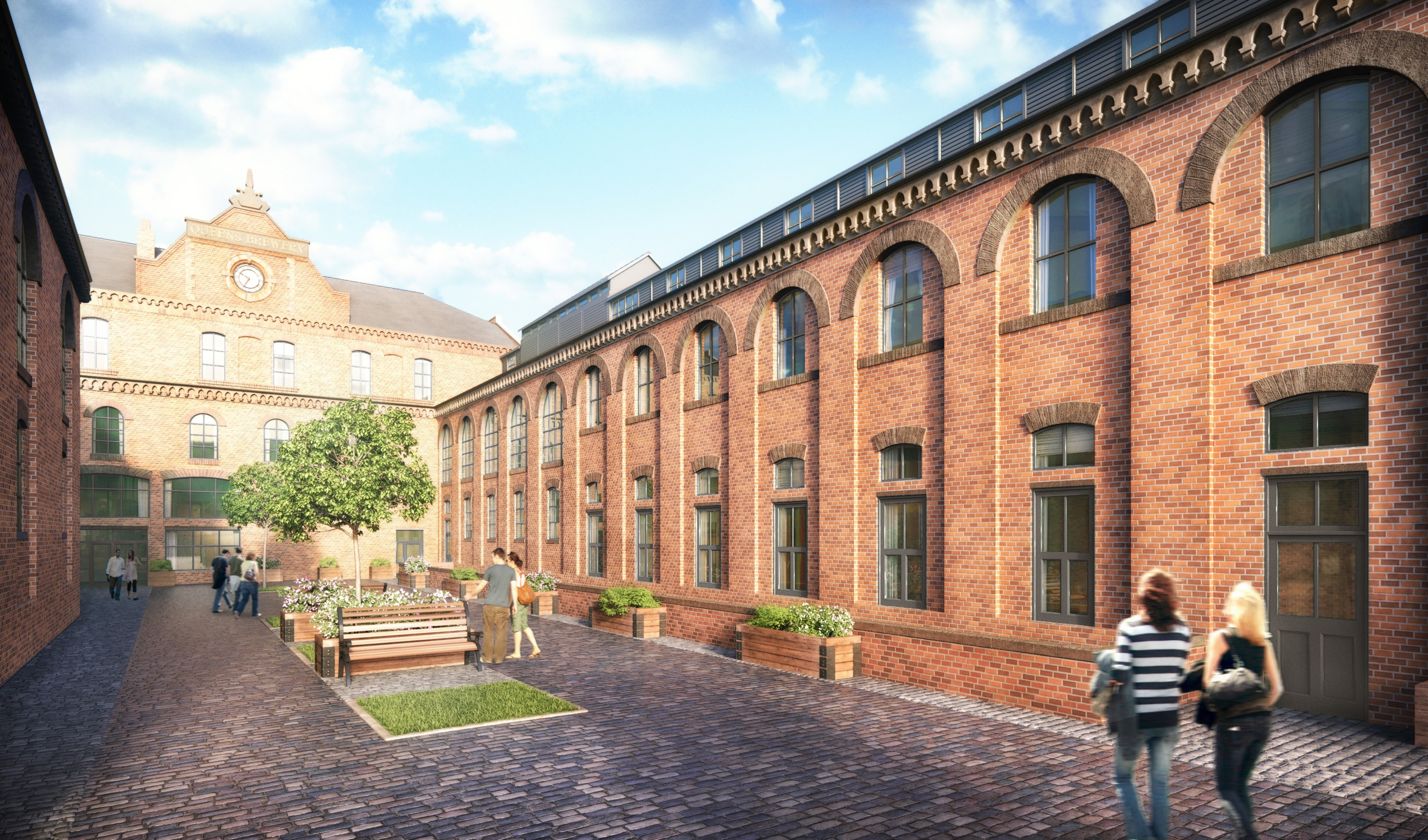 Queen S Brewery At Manchester Uk To Let Apartments Hydes