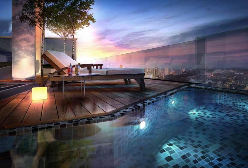 218 Macalister - Penang Malaysia, Pool Deck
