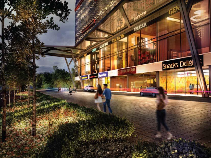 218 Macalister - Penang Malaysia, Retail