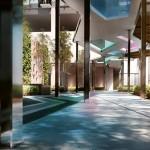 218 Macalister - Penang Malaysia,Landscaped Walkway