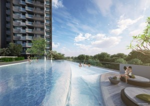 Trilive 3G living with 30m Sky Pool