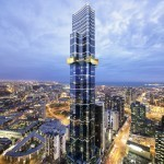 The tallest House Design & House Plans in Melbourne, Australia-Melbourne Tower.
