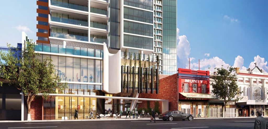 188 Wickham within 200 metres from Brisbane's Business District.