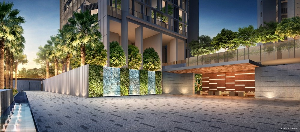 New Commonwealth Condo-Commonwealth Towers Main Entrance