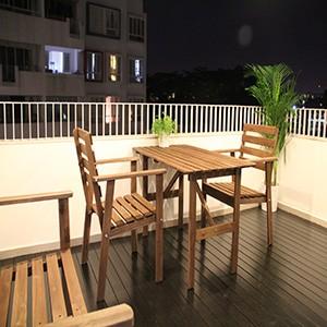 Balcony of Mi Casa.