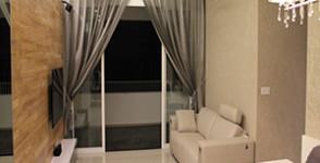 Living and Balcony of Mi Casa.
