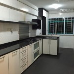 Modern renovated Kitchen Block 351D HDB Resale at Canberra Road.