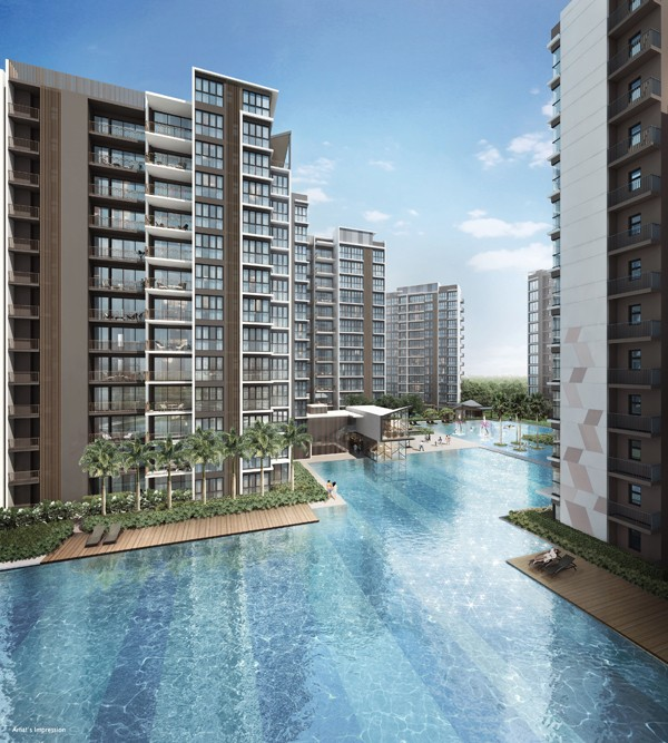 Criterion Executive Condo nearby Yishun Town Secondary School-Hero Pool