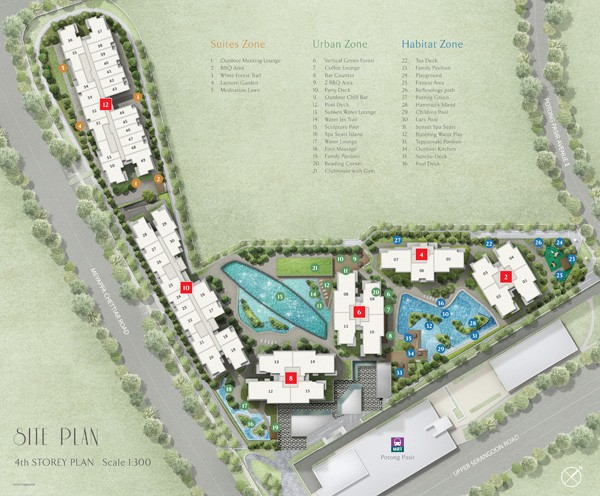 the Andrew Residence at Poting Pasir New Launch Condo.