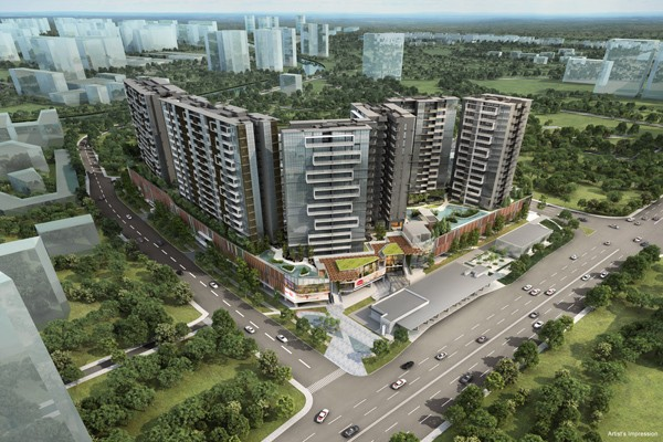 the Poiz Residences at POTONG PASIR MRT.