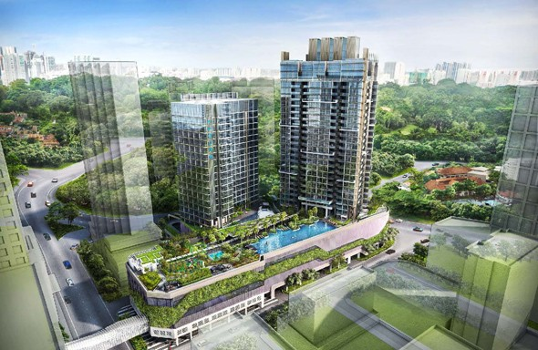 Cairnhill 9 New Condo Launch   Somerset MRT at Orchard Road.