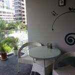 Beacon Heights Condo   Balcony with serenity.